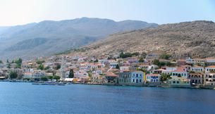 ギリシャ・ハルキ島の町並みの写真素材 [FYI00169800]