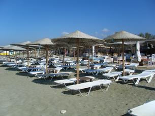 ギリシャ ティノス島のビーチの写真素材 [FYI00169826]