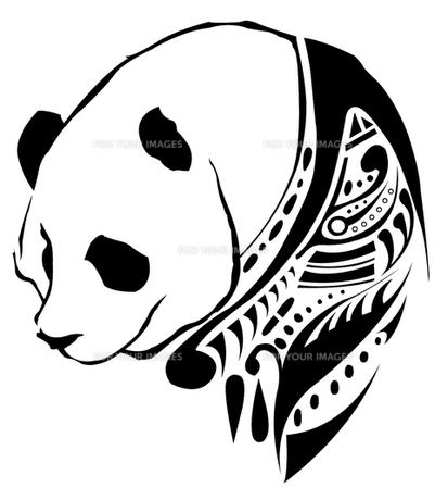 パンダの素材 [FYI00169873]