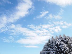 冬の青空の素材 [FYI00171110]