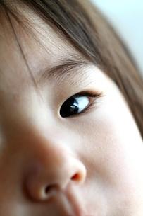 子供の瞳の写真素材 [FYI00171253]