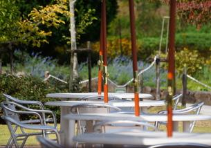テーブルと椅子の写真素材 [FYI00171337]