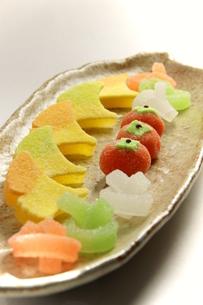 和菓子の写真素材 [FYI00171390]