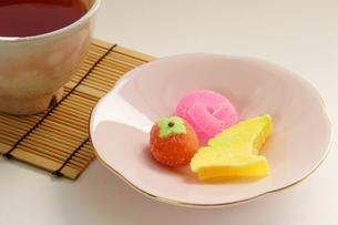 和菓子の写真素材 [FYI00171392]