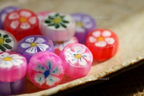 花模様 キャンディの写真素材 [FYI00171403]