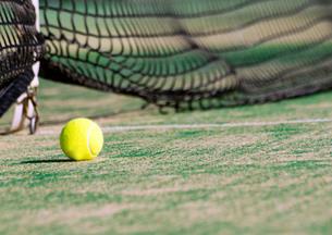 テニスボールの写真素材 [FYI00171524]