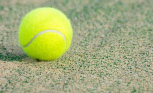 テニスボールの写真素材 [FYI00171533]