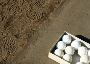 野球ボールの写真素材 [FYI00171556]