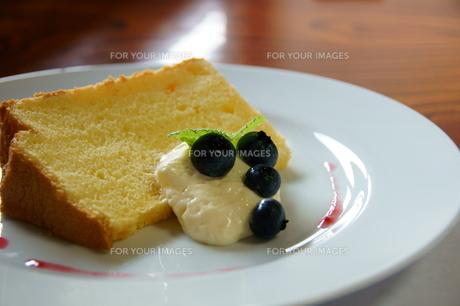 シフォンケーキの写真素材 [FYI00171653]