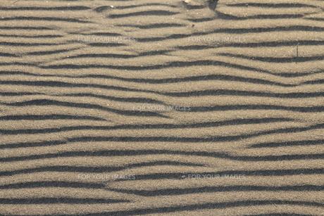 砂の模様の素材 [FYI00171783]