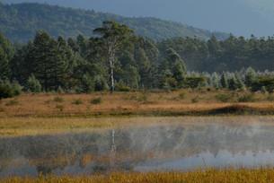 小田代原の幻の湖2007の写真素材 [FYI00171881]