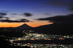 富士山からの宝石の写真素材 [FYI00171963]