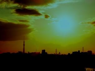 夕暮れの写真素材 [FYI00172022]