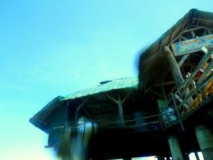 ナルスアンの船着き場の写真素材 [FYI00172101]