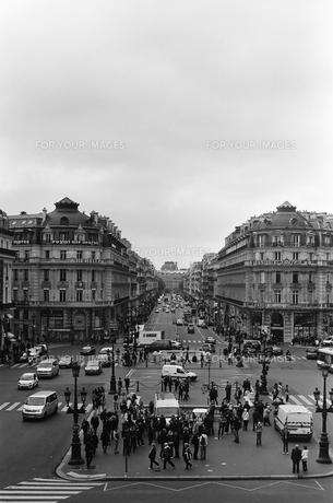 パリ オペラ座 風景の写真素材 [FYI00172218]