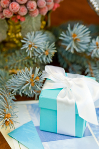 クリスマスギフトボックスの写真素材 [FYI00172219]