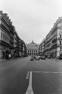 パリ オペラ座の写真素材 [FYI00172233]