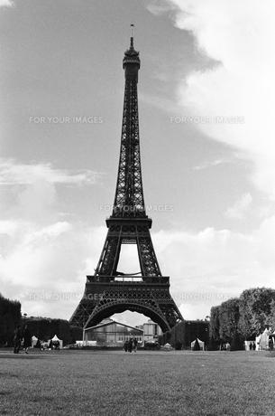 パリ エッフェル塔の写真素材 [FYI00172247]