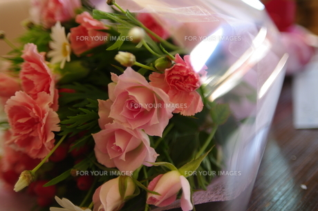 花束の写真素材 [FYI00172338]