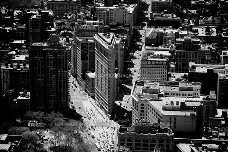 エンパイア・ステート・ビルディングからの眺めの写真素材 [FYI00172366]