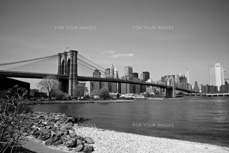 ブルックリン橋の写真素材 [FYI00172372]