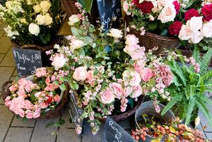 フランスの花屋さんの素材 [FYI00172387]