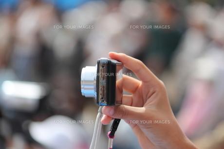 デジタルカメラ撮影の写真素材 [FYI00172431]