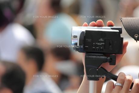 ビデオ撮影の写真素材 [FYI00172432]