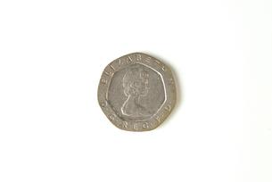 20ペニー硬貨の写真素材 [FYI00172875]