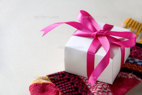クリスマスプレゼントの写真素材 [FYI00173296]