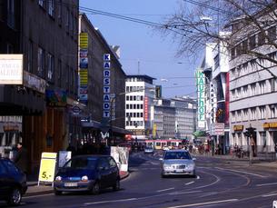 ドイツ ケルンの街並の写真素材 [FYI00173384]