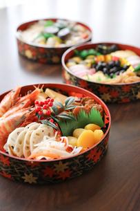 おせち料理の写真素材 [FYI00173402]