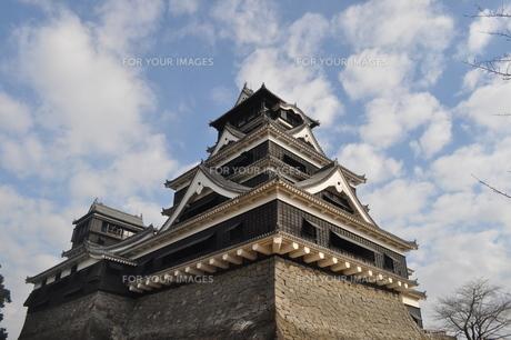 熊本城の写真素材 [FYI00173484]