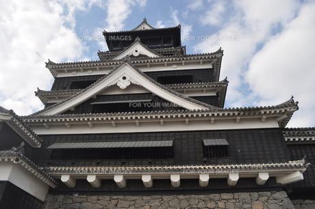 熊本城の写真素材 [FYI00173485]