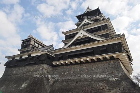 熊本城の写真素材 [FYI00173491]