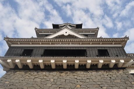 熊本城の写真素材 [FYI00173496]