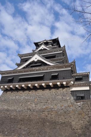 熊本城の写真素材 [FYI00173507]