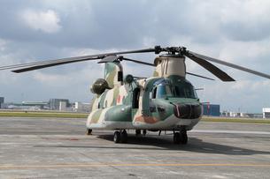 輸送ヘリコプターCH-47チヌークの写真素材 [FYI00173718]