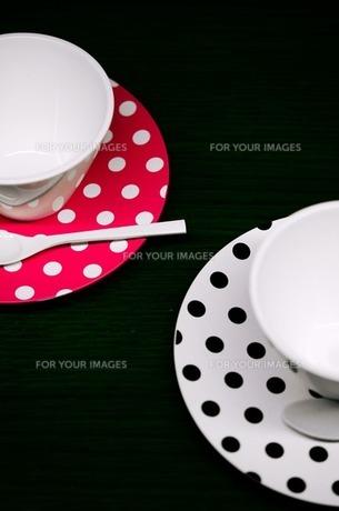ペアコーヒーカップの写真素材 [FYI00173929]