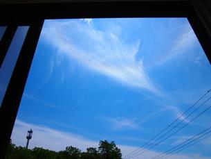 窓の空の写真素材 [FYI00173953]