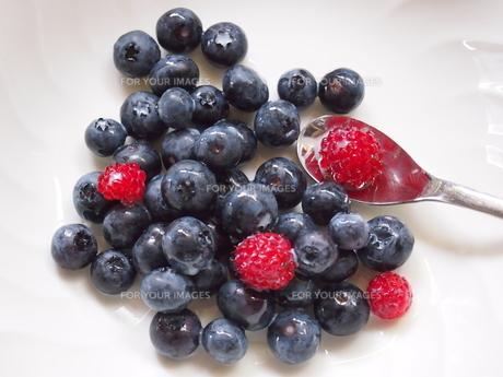 mixberryデザートの写真素材 [FYI00173954]