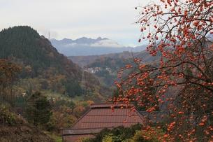 里山の秋の写真素材 [FYI00174019]