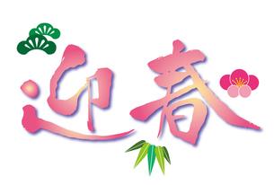 迎春の写真素材 [FYI00174027]