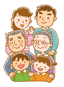 3世代家族の素材 [FYI00174046]