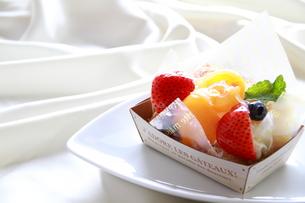 フルーツケーキの写真素材 [FYI00174057]