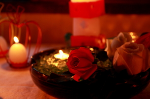 Candle-light2の写真素材 [FYI00174107]