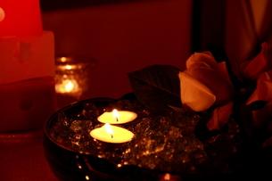Candle-light1の写真素材 [FYI00174108]