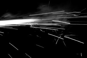 火の流星の写真素材 [FYI00174311]