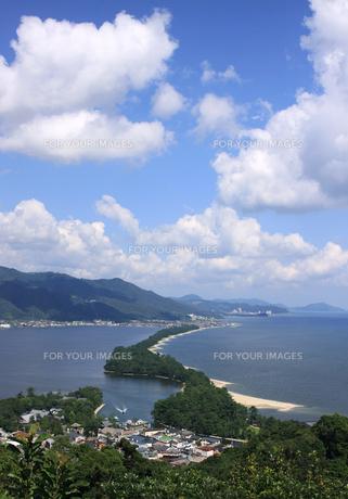 夏の天橋立の写真素材 [FYI00174874]