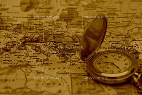 セピア色のローマへの想いの写真素材 [FYI00174936]